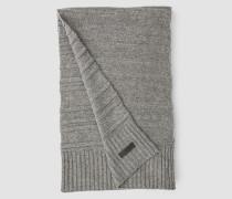Gestreifter Schal aus Wollgemisch