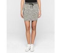 Meliertes Strick-Skirt