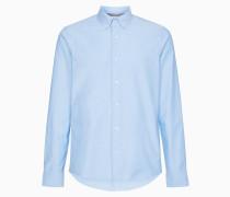 Slim Fit Oxford Button-Down-Hemd