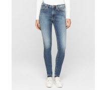 High-Rise Sculpted Skinny-Jeans