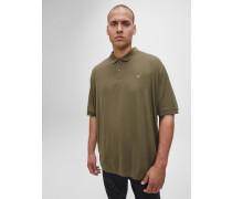 Veredeltes Piqué-Poloshirt in Plus-Size