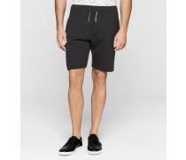 Shorts aus gebondetem Jersey