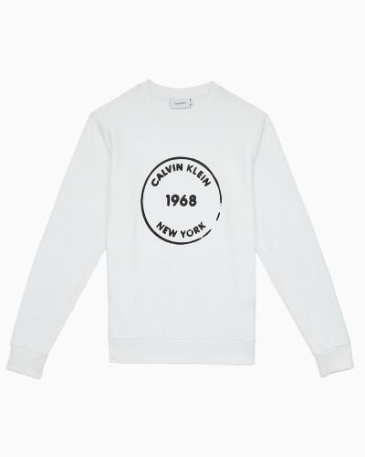 Logo-Sweatshirt aus Bio-Baumwolle