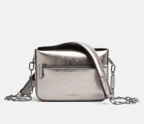 Kleine Metallic Micro Crossover-Bag