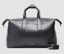 Leder-Weekender-Bag