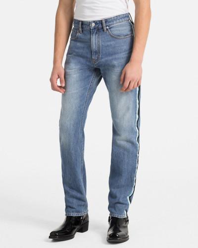 CKJ 035 Straight Taped Jeans