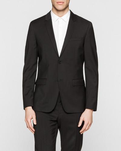 Taillierter Blazer aus Schurwolle