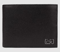 Dreifach faltbares Portemonnaie mit RFID-Schutz