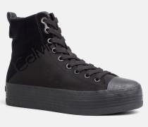High Top Sneakers aus Nylon-Twill