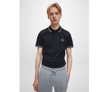 Slim Poloshirt aus Stretch-Piqué
