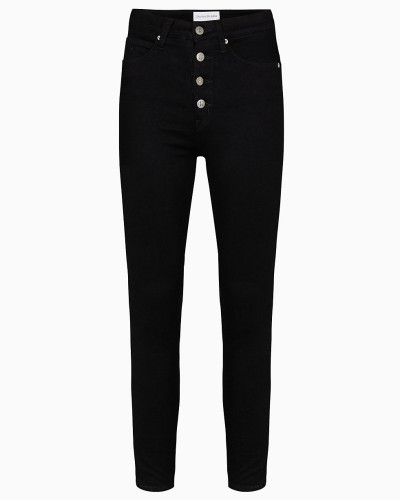Knöchellange High Rise Super Skinny-Jeans