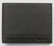Schmales Portemonnaie aus Leder