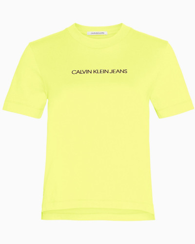 Gerades T-Shirt aus Bio-Baumwolle