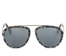 Man Marina Sonnenbrille Color Acciaio