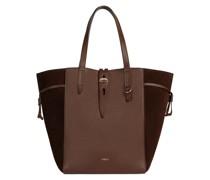 Net Braun Shopper-Tasche