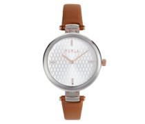 New Pin Braun Armbanduhr