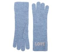 Reale Blau Handschuhe