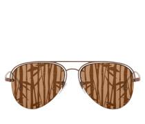 Man Ulisse Sonnenbrille Color Bronzo