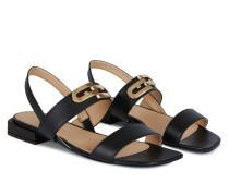 Chain Schwarz Sandale