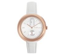 Cosy Seconds Weiß Armbanduhr