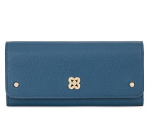 Capriccio Bi-Fold Portemonnaie Blu Ginepro B