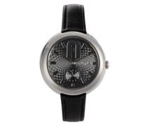 Cosy Seconds Schwarz Armbanduhr