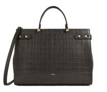 Lady M Grau Tote-Bag