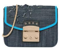 Metropolis Mini Crossbody-Taschen Blue Denim