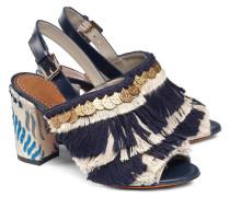 Sandale aus Stoff