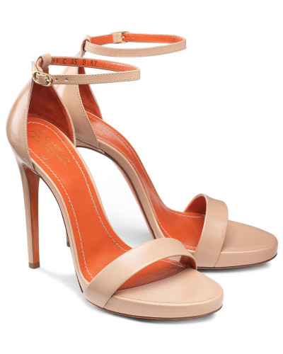 Santoni Damen Sandale aus Leder