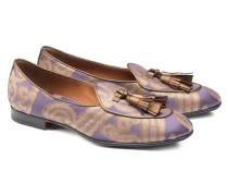 Loafer aus Rubelli-Gewebe