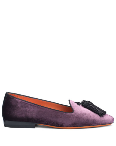 Loafer aus Samt
