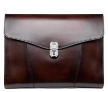 Unterarmtasche aus Leder