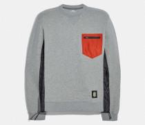 Nylon-Sweatshirt