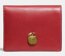 Small Snap Wallet With Apple