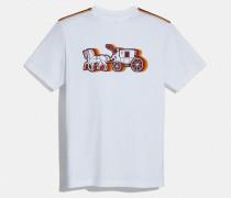 T-Shirt Pferd- und Wagen