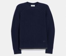 Pullover mit Rundhalsausschnitt und Raglanärmeln