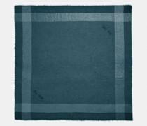 Challis Metallic-Schal mit Fensterkaros
