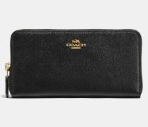 Akkordeon-Portemonnaie mit ReiBverschluss