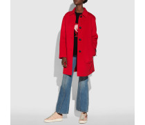 Doppelseitiger Caban aus Wolle
