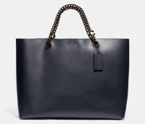 Signature Chain Central Tote Bag