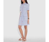 Hemdkleid im Western-Stil mit Stern-Print