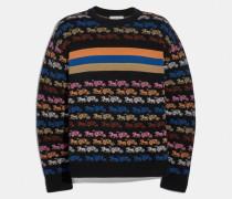 Pullover mit Regenbogen-Pferdekutsche