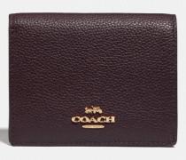 Kleines Portemonnaie mit Druckknopf