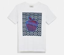 """T-Shirt mit Big Apple Camp""""-Grafik"""