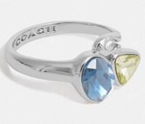 Charakteristischer Ring mit Kristallcluster