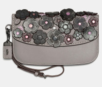 "Clutch im feinen Tea Rose""-Design"
