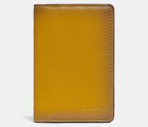 Karten-Portemonnaie mit charakteristischem Colourblock-Canvas-Detail