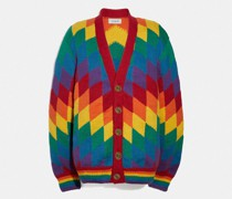 Regenbogen-Cardigan