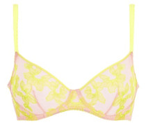 Florelai Bra Yellow And Nude
